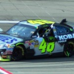 Jimmie Johnson No. 48 Lowe's / KOBALT Tools won the Shelby American in Las Vegas 2010