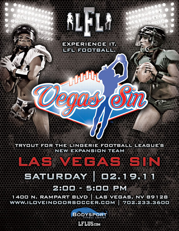 lingerie football league tryouts in las vegas