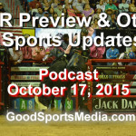 PBR World Finals Preview &  Other Sports Updates