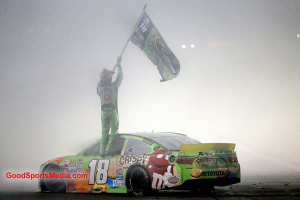 NASCAR Champ Kyle Busch